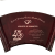 Piano Finish Rosewood Scroll Plaque